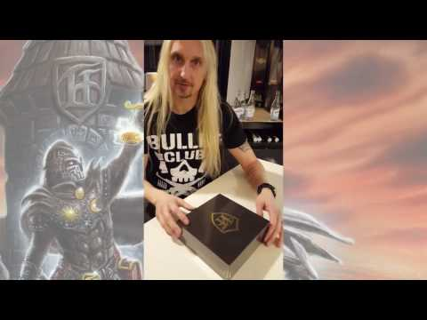 HAMMERFALL - Oscar unboxing Built To Last | Napalm Records