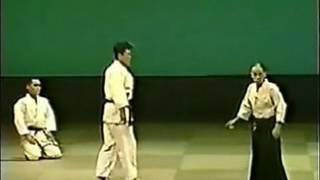 Удары Айкидо -  Годзо Сиода  (сила Кокю)