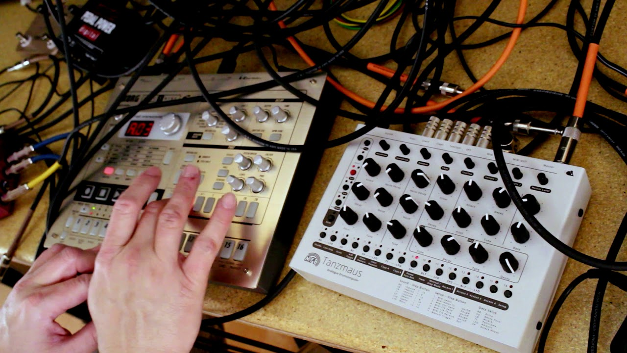 MFB Tanzmaus MIDI controlled via Korg Electribe [PART 2]