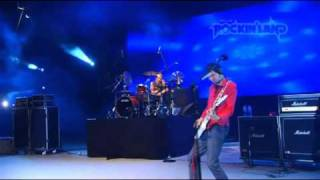 When performed at Java Rockin'land 2009. Carnaval Beach, Ancol, Jak...