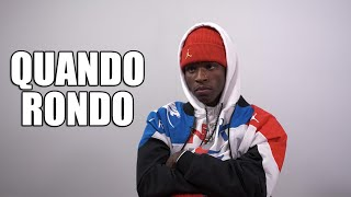Quando Rondo on Being in Juvenile Detention from 11 to 16, Mom on Drugs (Part 2)