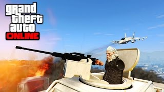 LAZER vs TANK vs INSURGENT vs EVERYTHING GTA 5 ONLINE