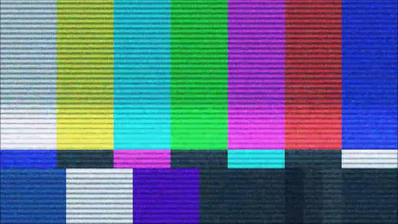 Tv Error Screen W Tv Buzzing Youtube