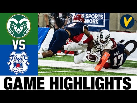 Colorado State vs Fresno State Highlights | Week 9 2020 College Football Highlights