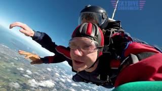 """Andrew"" Benjamin Holliday's Tandem skydive!"