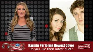 karmin performs newest cover lil waynes 6 foot 7 foot