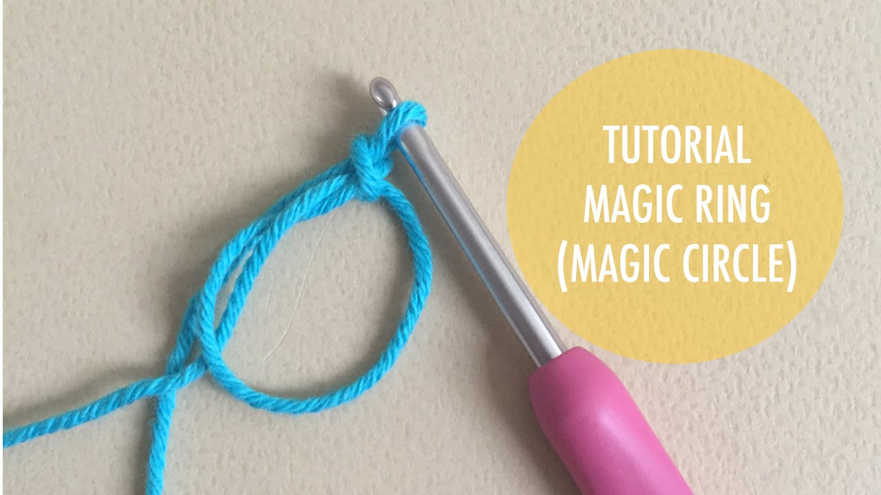 How to crochet magic ring or magic circle youtube how to crochet magic ring or magic circle baditri Images