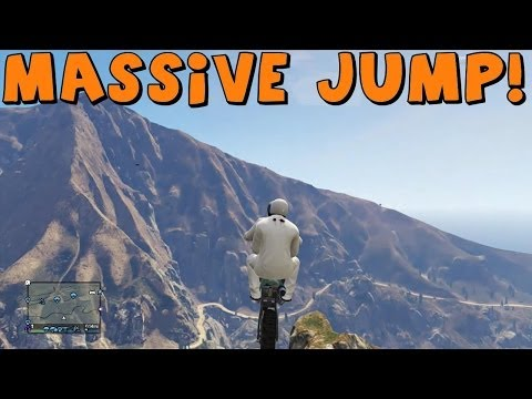 Grand Theft Auto 5 Online | Cliff Jumping And Dirt Bike Fun! ...