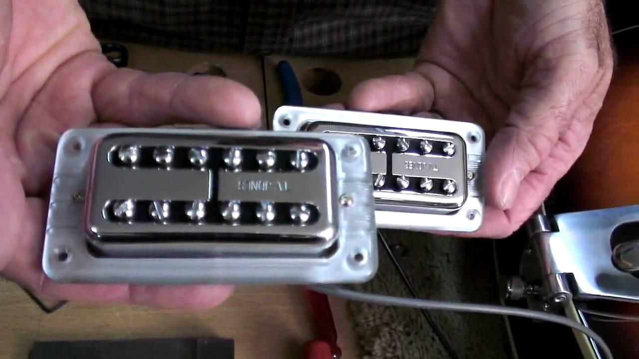 maxresdefault tv jones replaces stock gretsch 5120 pickups with tv classics part tv jones pickup wiring diagram at virtualis.co