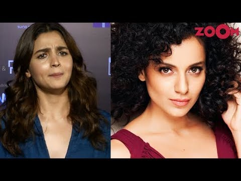 Alia Bhatt gives a HARD HITTING reply to Kangana Ranaut & REACTS to tanking of Kalank on box office