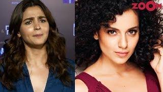 Alia Bhatt gives a HARD HITTING reply to Kangana Ranaut & REACTS to tanking of Kalank on box office