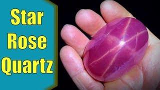 Discovering Star Rose Quartz During a Gem Show