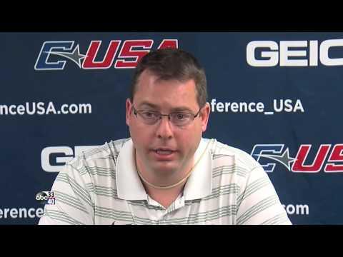 UAB coach Jerod Haase talks 2016 C-USA Basketball Tournament