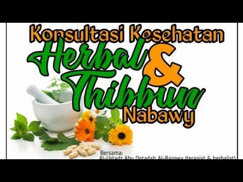 Perbedaan Antara Herbal Dan Thibbun Nabawi.  Ustadz Abu Qotadah Al Barowi