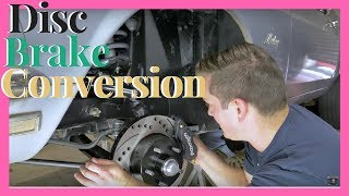 1969 Ford Mustang Wilwood Disc Brake Install | Disc Brake Conversion Ford Mustang