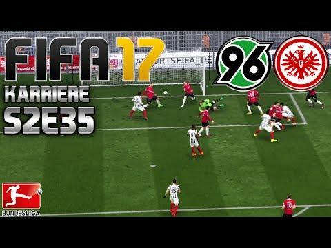 FIFA 17 KARRIERE ⚽️ S02E35 • 21. SPIELTAG: Hannover 96 vs. E. Frankfurt