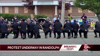 Randolph holds peaceful demonstration for change