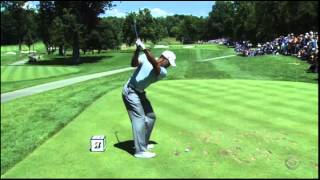 Tiger Woods 7 Iron Swing Slow Motion Bridgestone 2013