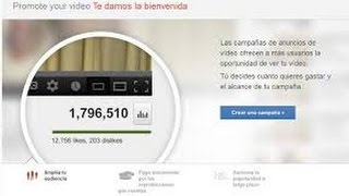 Promocionar mi VIDEO GRATIS en youtube 2018..TESTIMONIOS 100% efectivo