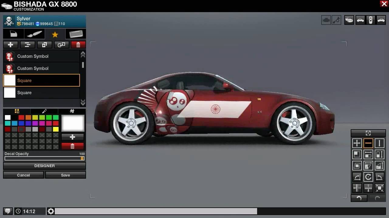 Car Design In Apb 39 S Car Editor Youtube