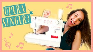 Why does an OPERA SINGER own a SEWING MACHINE in 2020?