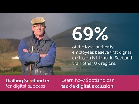 Tackling digital exclusion | Dialling Scotland in for digital success