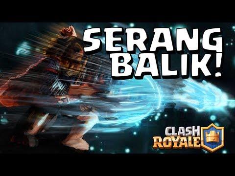 JURUS DEFENSE DAN SERANG BALIK! STRATEGI MENANG ROYAL GIANT CHALLENGE! • Clash Royale Indonesia