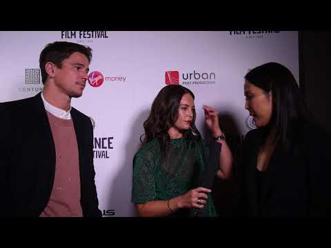 Josh Hartnett & Atsuko Hirayanagi   Raindance 25  Night Red Carpet