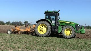 7820 bivomere moro deep plowing in italy 2013