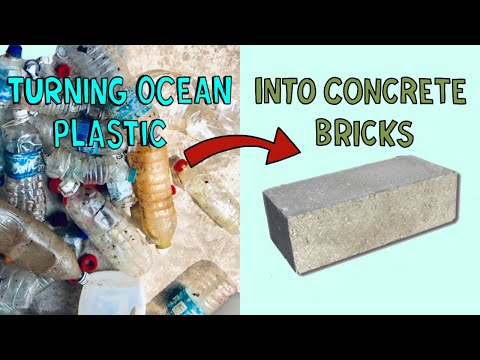 Making Ocean Plastic Bricks on Tioman Island