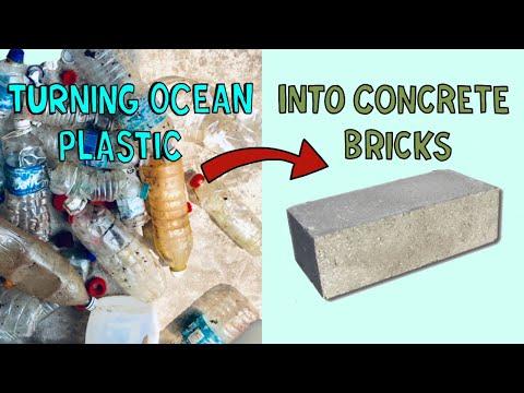 Making Ocean Plastic Bricks on Tioman Island