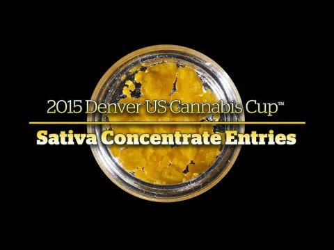 2015 Denver Cannabis Cup: Sativa Concentrate Entries