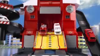 TOMICA新城鎮 遙控聲光消防局
