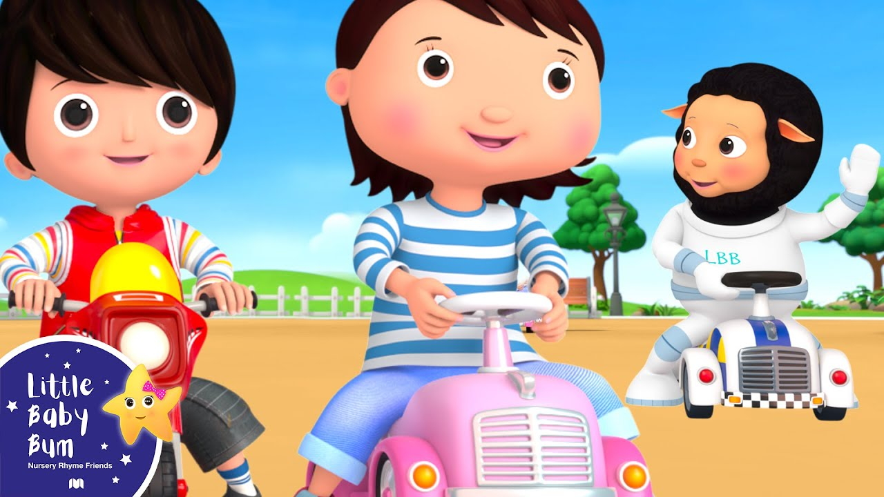 Driving in My Car | Little Baby Bum - New Nursery Rhymes for Kids