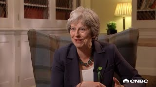 CNBC Exclusive with UK Prime Minister Theresa May   Squawk Box Europe