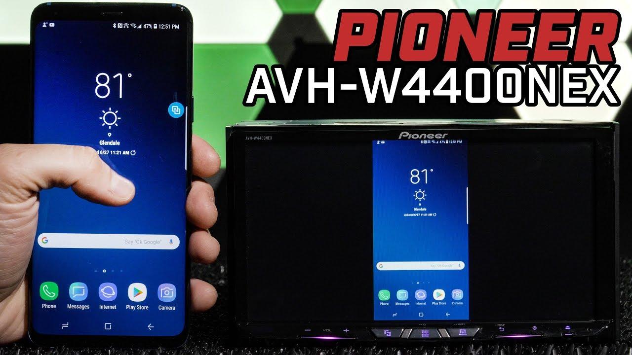 Pioneer AVH-W4400NEX - Miracast Wireless Screen Mirror, Wireless Apple  Carplay & Android Auto