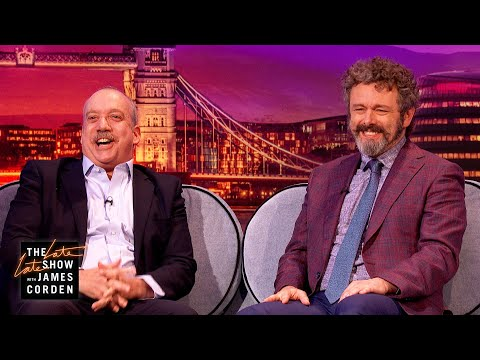 Michael Sheen & Paul Giamatti Are Very International - #LateLateLondon
