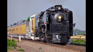 UNION PACIFIC 844 Steam Train!