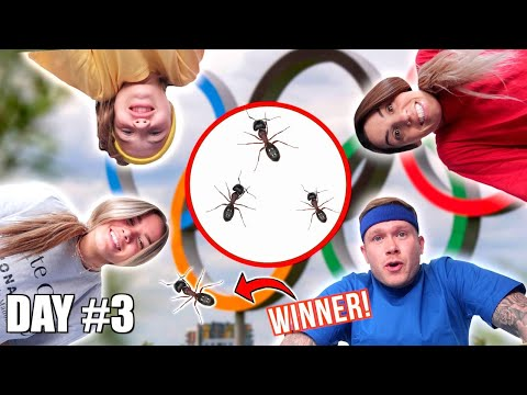 First ANT To LEAVE The CIRCLE WINS! *DVG OLYMPICS DAY 3