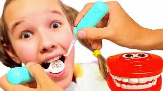 Dentist Song Spanish Version | Nursery Rhimes & Kids Songs by Emi and Niki