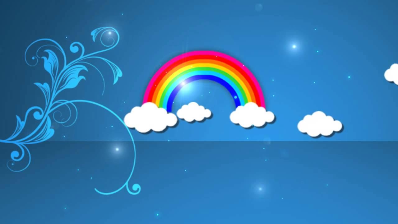 2d sky cartoon background hd loop youtube