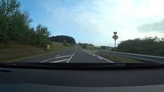 ニュルブルクリンク走行後、シュツットガルトへ向けてドライブ