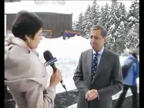 Vikram Pandit in Davos for WEF 2012 - Interview with Shaili