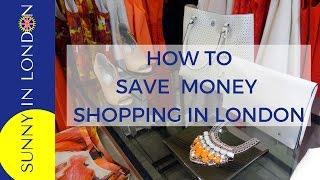 VAT Refund Shopping When Visiting London