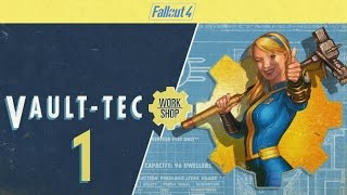 FALLOUT 4 (Vault-Tec Workshop) #1 - The Overseer seems ... different ...