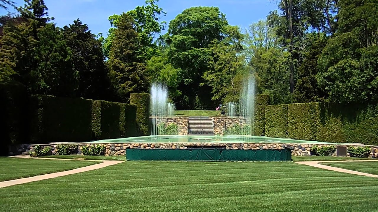 Longwood Gardens Fountain Show The Open Air Theatre Youtube