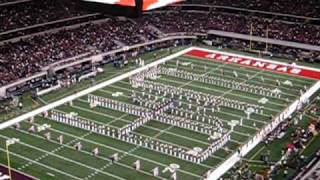 Arkansas Razorback Marching Band, Pre-Game Show: Arkansas vs Texas A&M