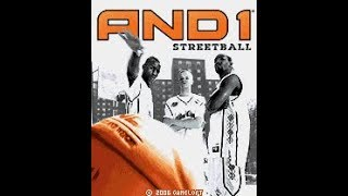 """And 1 Street Basketball"" - Gameloft (Java Game)"