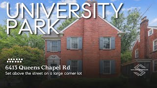 6413 Queens Chapel Rd., University Park, MD - Single Family Home for Sale