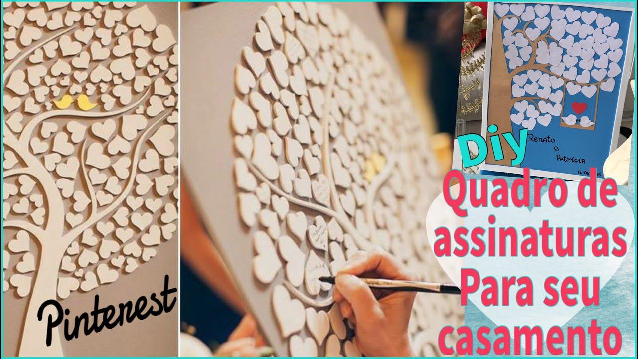Diy quadro de recados convidados assinam no seu for Como fazer um mural de recados artesanal